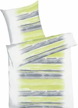 KAEPPEL Bettwäsche 775 grün (135x200+80x80cm)