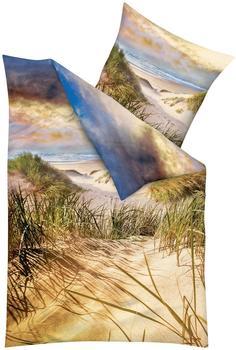 Kaeppel Bettwäsche »Dünen« mit einem Strand natur 1x 155x220 cm