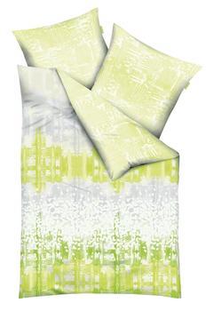KAEPPEL Bettwäsche »Sound«, mit Muster grün, 1x 135x200 cm