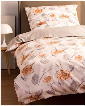 SCHÖNER WOHNEN Schöner Wohnen, »Orelia«, mit Blumen orange 1x 155x220 cm