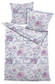 Dormisette Mako-Satin Bettwäsche Violett Dormisette violett