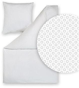 ESTELLA Tarun silber (155x220+80x80cm)
