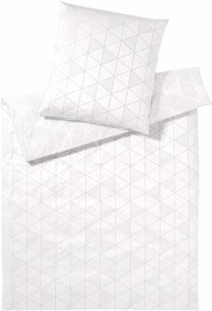 Elegante Triangle weiß (135x200+80x80cm)