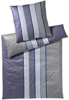 Joop! Cornflower Stripes deep violett (135x200+80x80cm)