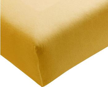 Formesse Bella Donna Jersey 90x190-100x220cm goldgelb
