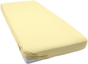 Schlafgut Frottee-Stretch Spannbetttuch 90x190-100x200cm kamille