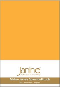 Janine 5007 Spannbetttuch 90x190-100x200cm sonnengelb