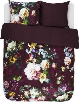 Essenza Fleur 80x80+155x220cm burgundy