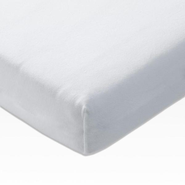 Joop! Spannbettlaken Mako-Jersey 180x200-200x200cm weiß