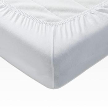 Joop! Spannbettlaken Mako-Jersey 160x200cm weiß