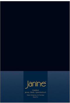 Janine Spannbetttuch Jersey 140x200-160x200cm 98 schwarz