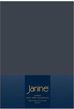 Janine Spannbetttuch Jersey 140x200-160x200cm 78 titan