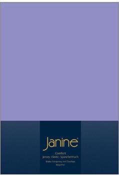 Janine Spannbetttuch Jersey 140x200-160x200cm flieder