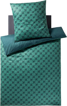 Joop! Cornflower Double 80x80+155x220cm emerald