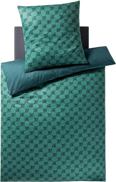Joop! Cornflower Double 80x80+155x220cm emerald