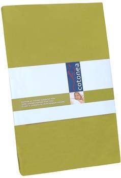 Cotonea Edel-Biber Spannbetttuch (90 x 200 cm)
