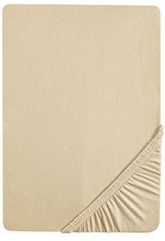 Biberna 2744 Biber Spannbetttuch 90x190-100x200cm beige