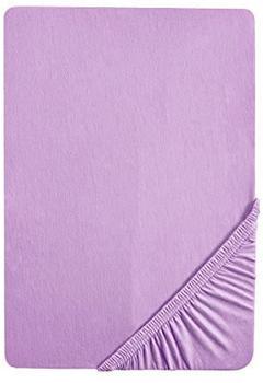 Biberna 2744 Biber Spannbetttuch 90x190-100x200cm lila