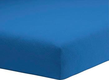 Schlafgut Frottee-Stretch Spannbetttuch 90x190-100x200cm capri