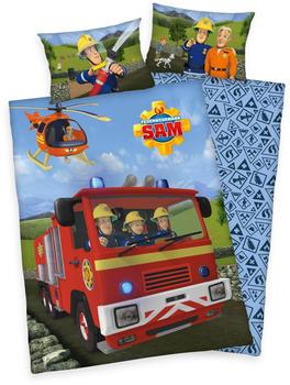 Herding Feuerwehrmann Sam Hubschrauber 40x60+100x135cm