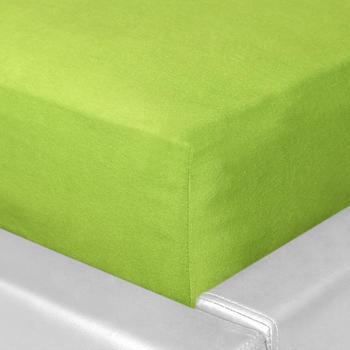 Schlafgut Basic Jersey-Spannbetttuch 140x200-160x200cm melone