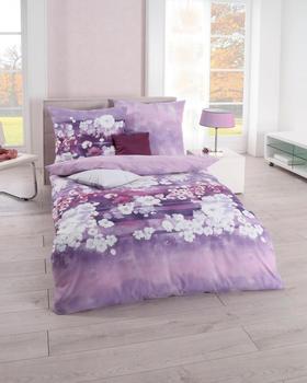 Kaeppel Valentine 80x80+135x200cm lavendel
