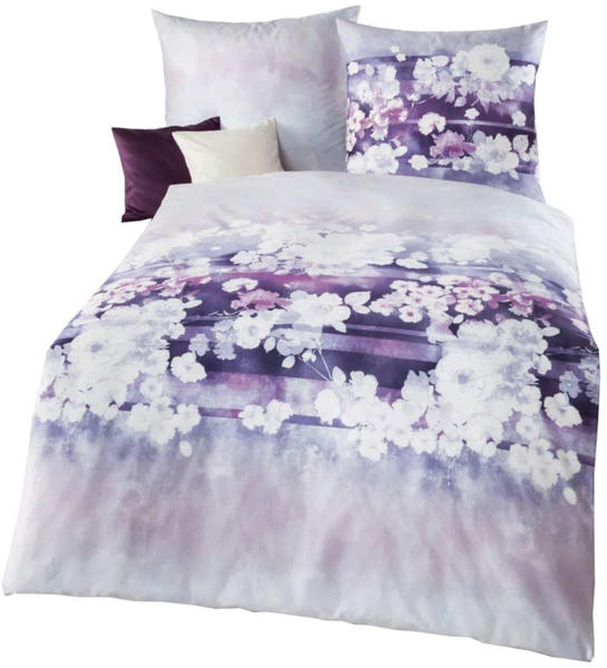 Kaeppel Valentine 80x80+135x200cm violett