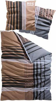 H.I.S Jeans Philip Biber 80x80+155x220cm braun