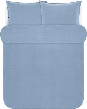Marc O'Polo Senja 2x80x80+200x200cm blau