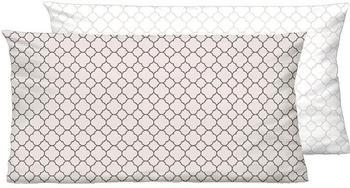 Biberna Mix Match 2x 80x40cm Muster beige