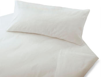 Cotonea Bio-Kissenbezug 40x60cm weiß