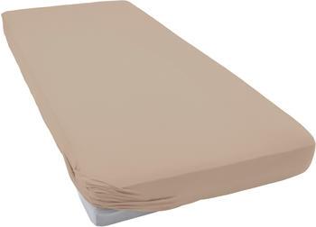 Tom Tailor Spannbettlaken Jersey 90x200-100x200cm sand