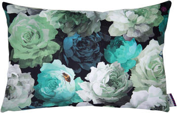 Tom Tailor Velvet Flowers 60x40cm grün