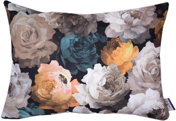 Tom Tailor Velvet Flowers 60x40cm braun