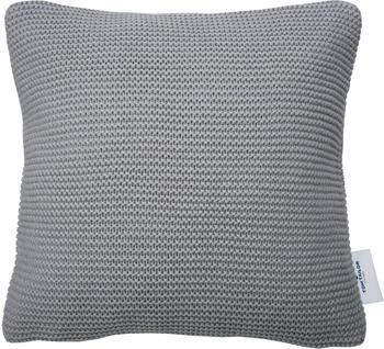 Tom Tailor Plain Knit 45x45cm grau