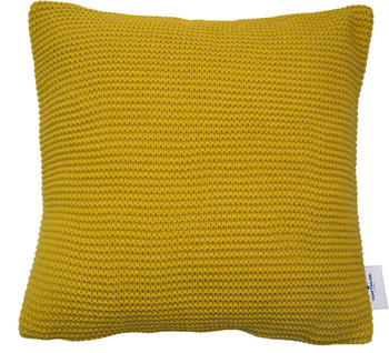 Tom Tailor Plain Knit 45x45cm gelb