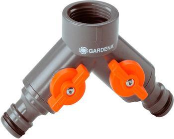"""Gardena Zwei-Wege-Ventil 3/4"""" für Hahn (0938-20)"""