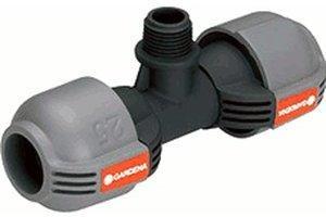 """Gardena Sprinkler-System T-Stück 1/2"""" Außengewinde (2786-20)"""