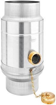 Grömo Wassersammler Uginox Patina K41 mit Schlauchset ø100mm (56678)