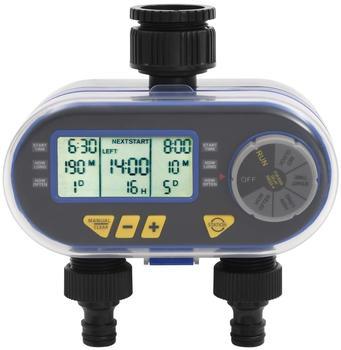 vidaXL Bewässerungstimer mit Doppelauslass (48039)