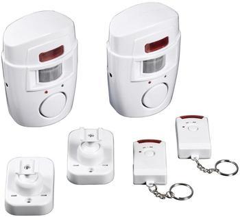 EASYmaxx Infrarot-Bewegungsmelder Security 2er Set
