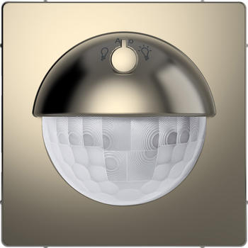 Merten Argus 180 UP Sensor-Modul mit Schalter Nickelmetallic