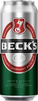 Beck's Pils 0,5l Dose