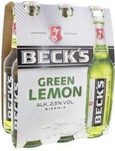 Beck's Green Lemon 0,5l Dose