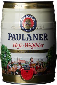 Paulaner Hefe-Weißbier Naturtrüb Partyfass 5l