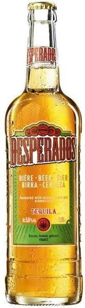 Desperados Bier mit Tequila Flavor 0,65l