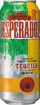 Desperados Bier mit Tequila Flavor 0,5l Dose