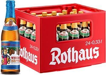 Rothaus Hefeweizen Alkoholfrei 24x0,33l Kasten