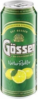 Gösser Natur Radler Zitrone 0,5l Dose