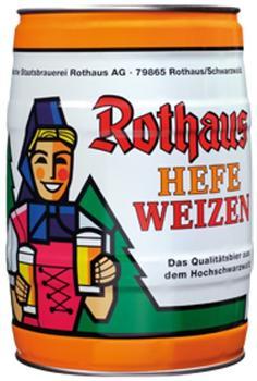 Rothaus Hefeweizen Partyfass 5l